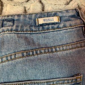 Brandy Melville Skirts - Melville might wash jean skirt